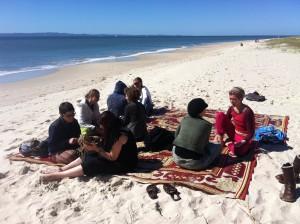 beach bribie weaving retreat